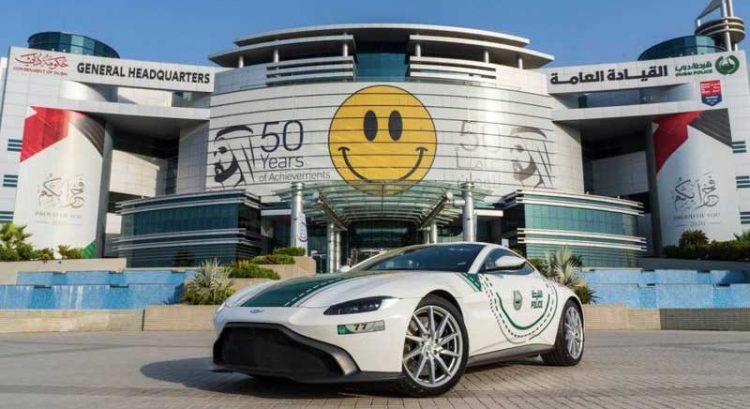 James Bond's Aston Martin latest supercar in Dubai Police fleet