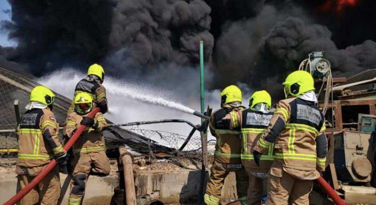 Fire breaks out in oil plant in Dubai's Jebel Ali